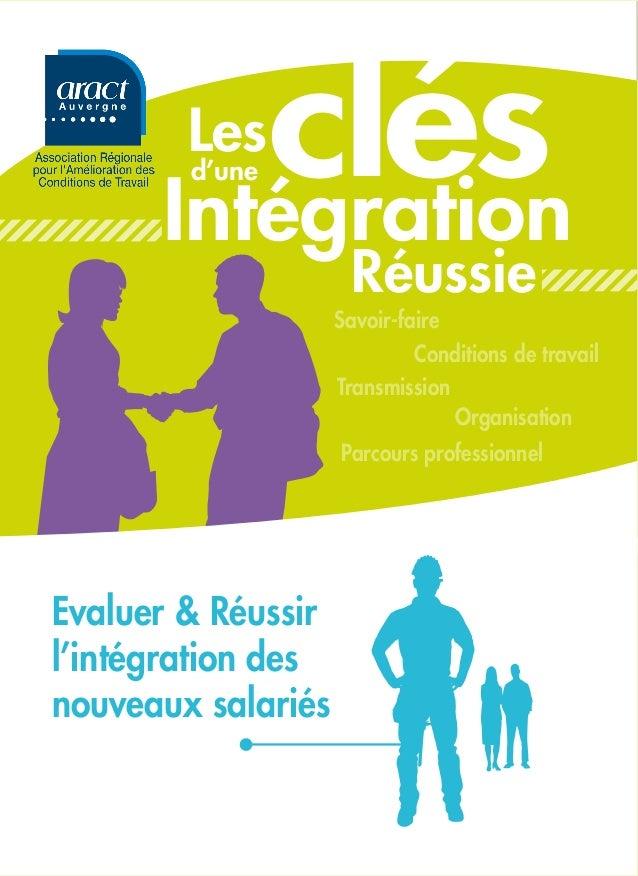 clés        Les        d'une      Intégration                     Réussie                    Savoir-faire                 ...