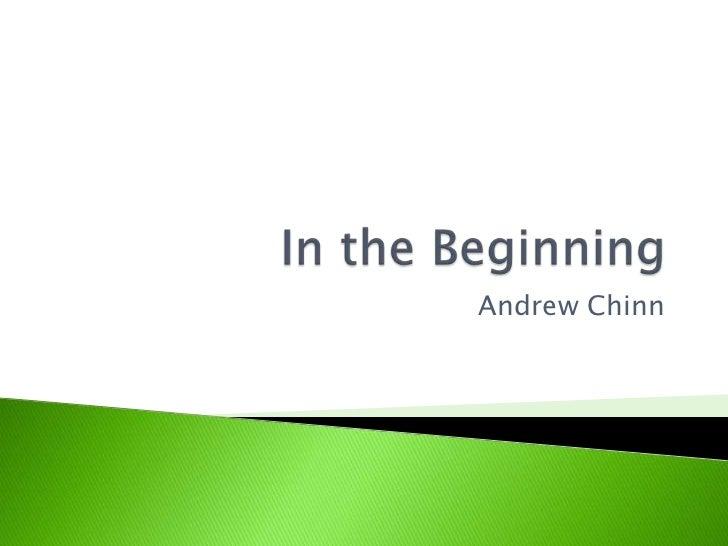 Andrew Chinn