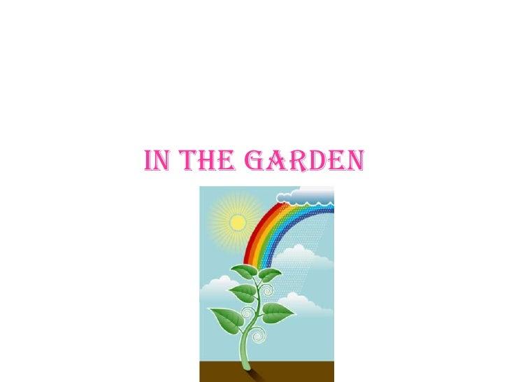 In The Garden   Georgia
