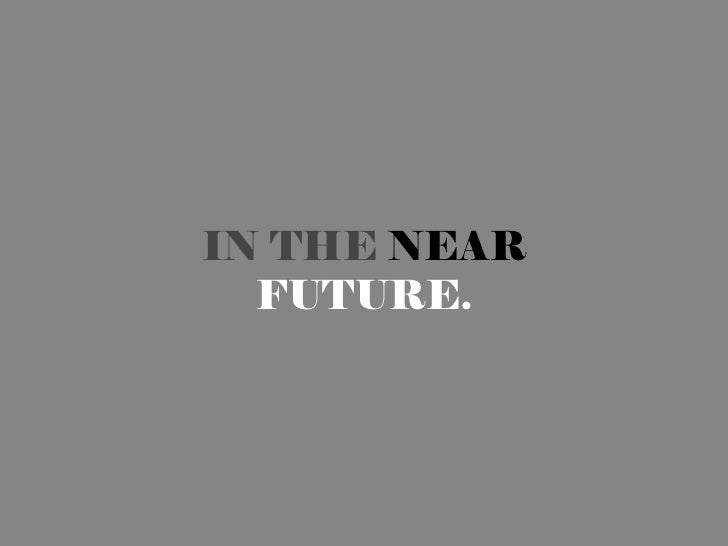 In the near future (cbo) jkd