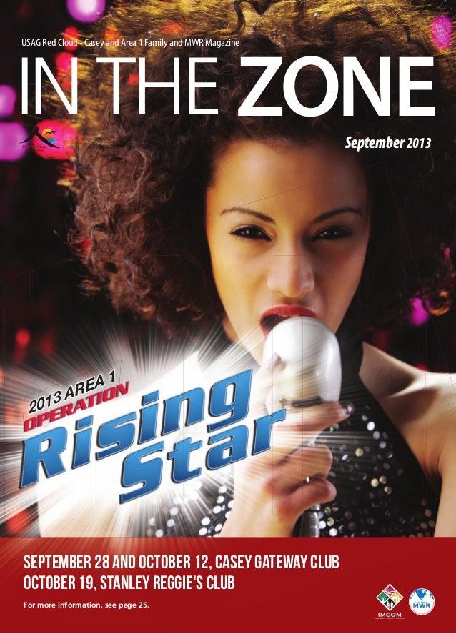 In The Zone September 2013