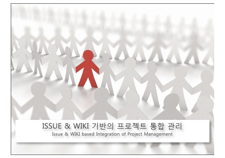 ISSUE & WIKI based Integration of Project Management