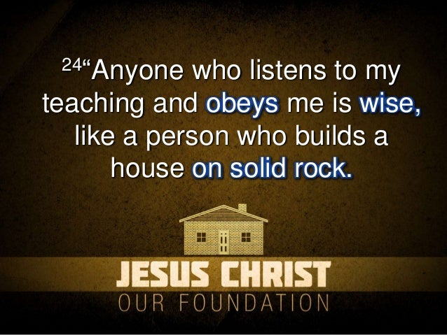 Image result for Jesus the foundation