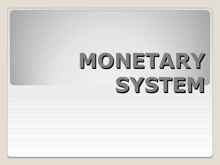 Intl monetary system ch. 10