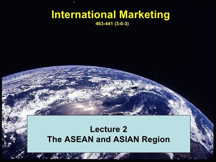 International Marketing Lecture 2