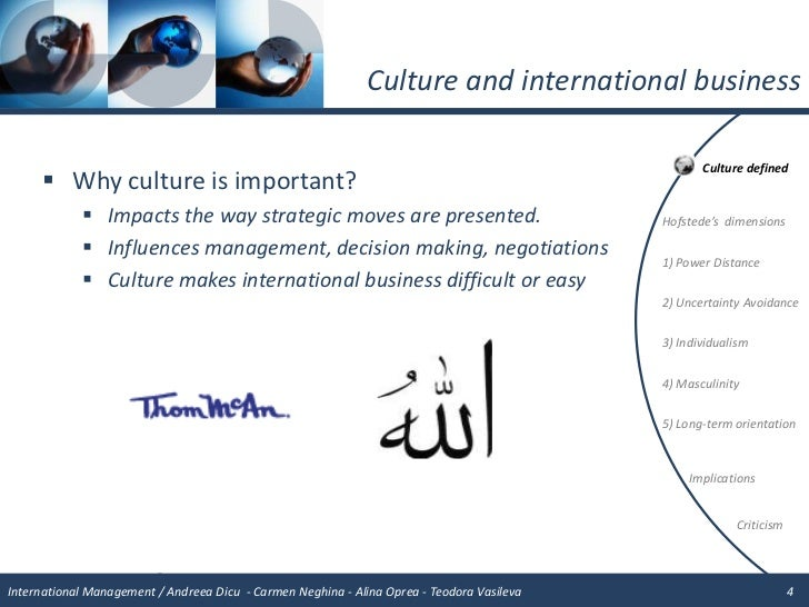 how does culture affect management How does culture impact hr policies by van thompson culture can strongly affect interpersonal styles may need to establish clear channels of communication as well as policies that encourage employees to communicate with management and hr references.