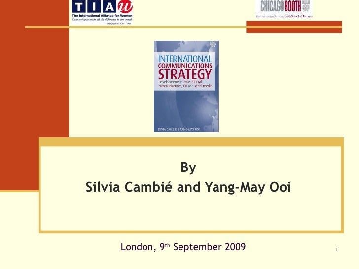 By Silvia Cambié and Yang-May Ooi London, 9 th  September 2009