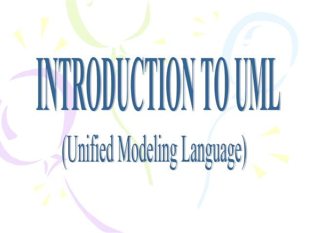 Intoduction to uml