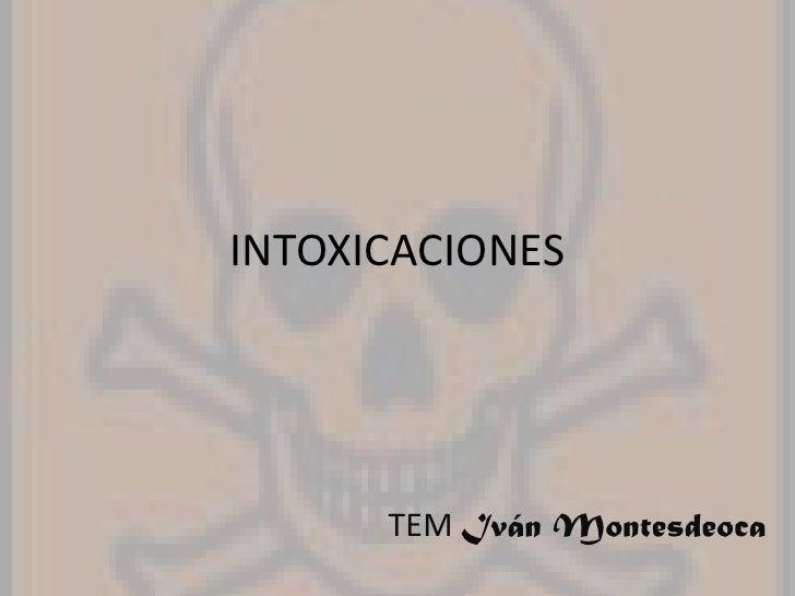 Intonxicaciones