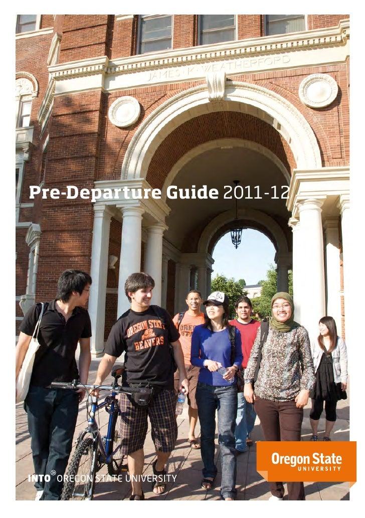 Pre-Departure Guide 2011-12