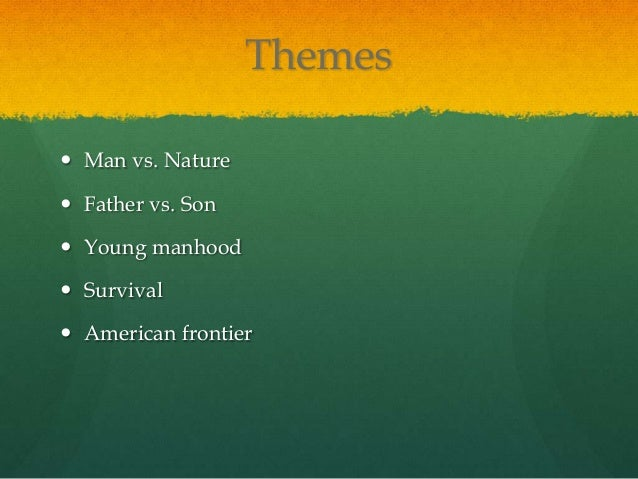 What is the theme of into the wild by Jon Krakauer?