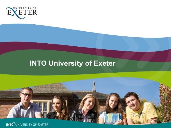 INTO University of Exeter photo slideshow (Sept 2010)