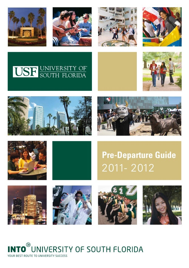 INTO University of South Florida Pre-Departure Guide 2011-2012