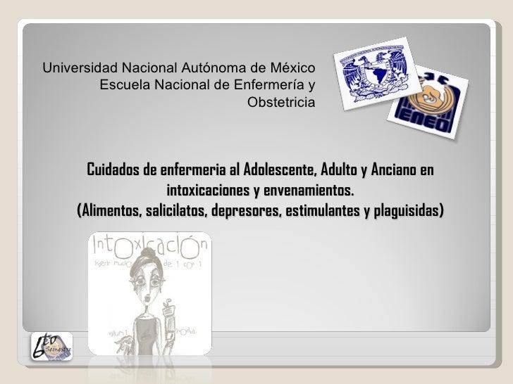 Universidad Nacional Autónoma de México         Escuela Nacional de Enfermería y                              Obstetricia ...