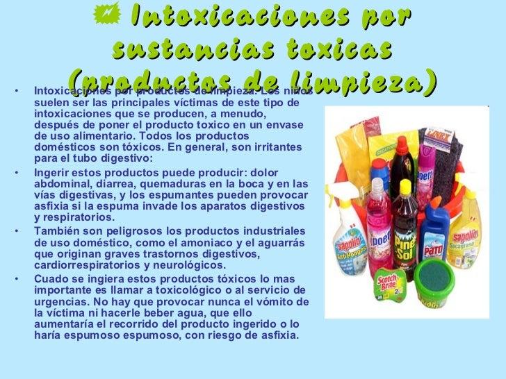 Intoxicaciones via digestiva for Productos jardineria