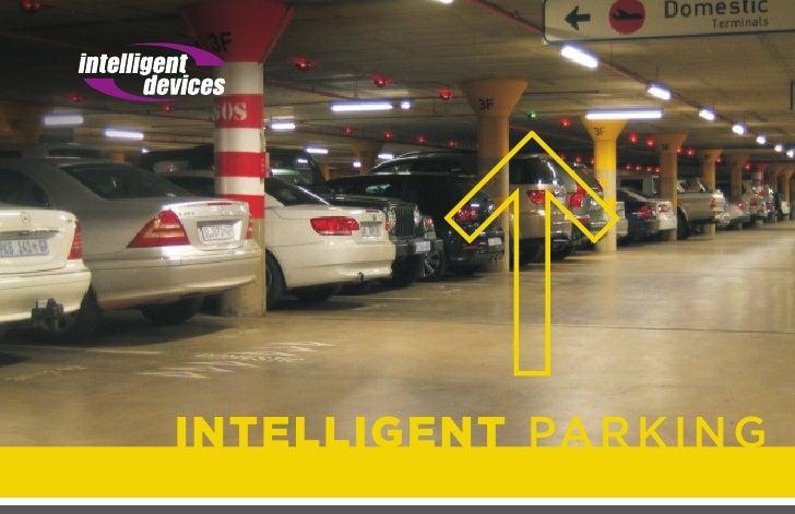 Intelligent Parking Guidance Brochure