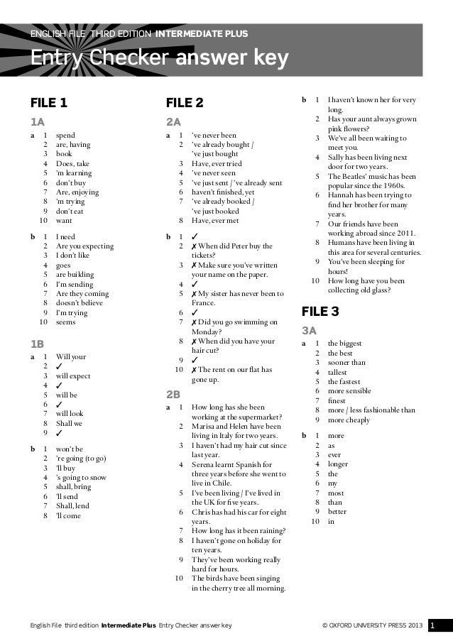 oxford english for information technology answer key pdf
