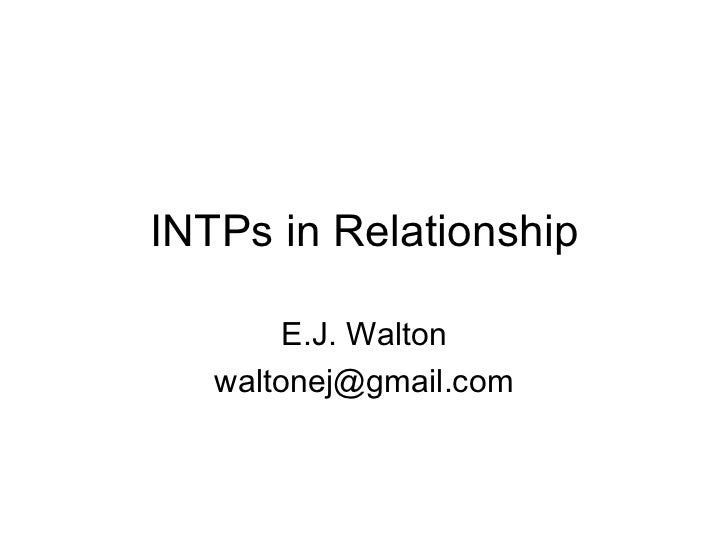 intps and dating