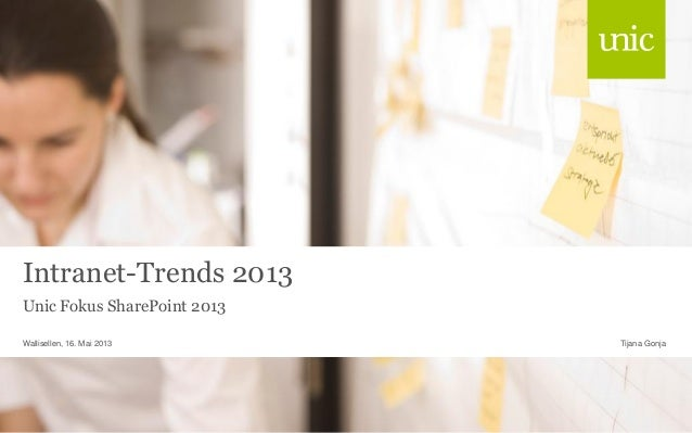 Intranet-Trends 2013