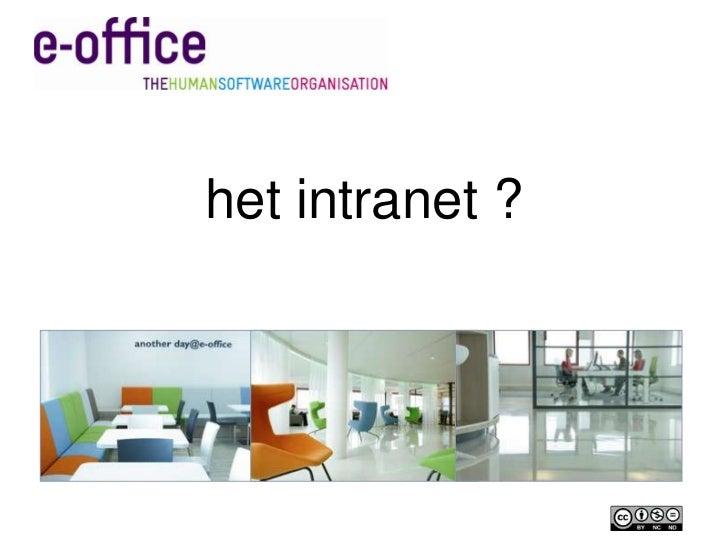 het intranet ?<br />