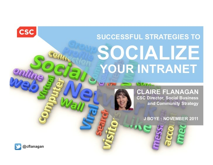 SUCCESSFUL STRATEGIES TO                                         SOCIALIZE                                         YOUR IN...