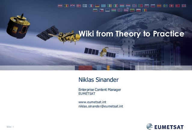 Intranet wiki - from theory to practice