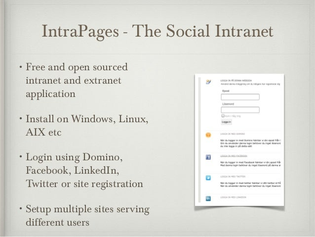 Intrapages - The Social Intranet