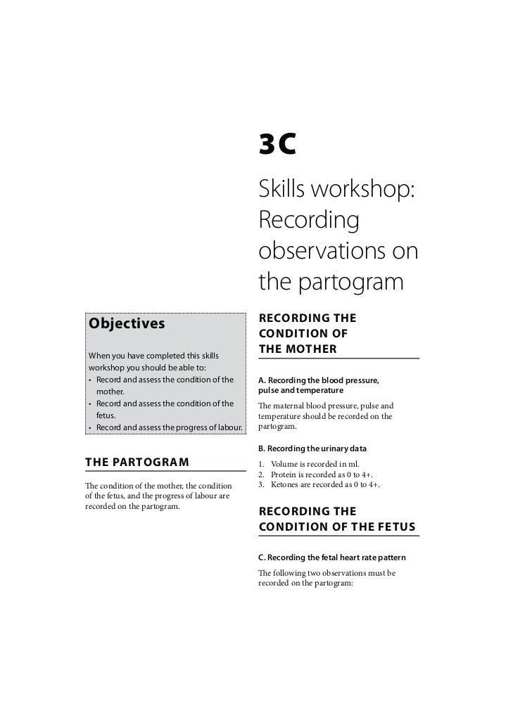 3C                                               Skills workshop:                                               Recording ...