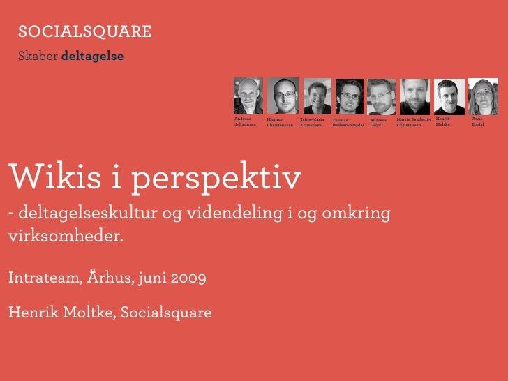 SOCIALSQUARE  Skaber deltagelse                                  Andreas     Magnus         Trine-Maria   Thomas          ...
