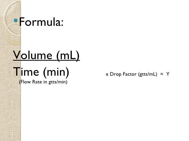 Amount in IV Fluid Questions