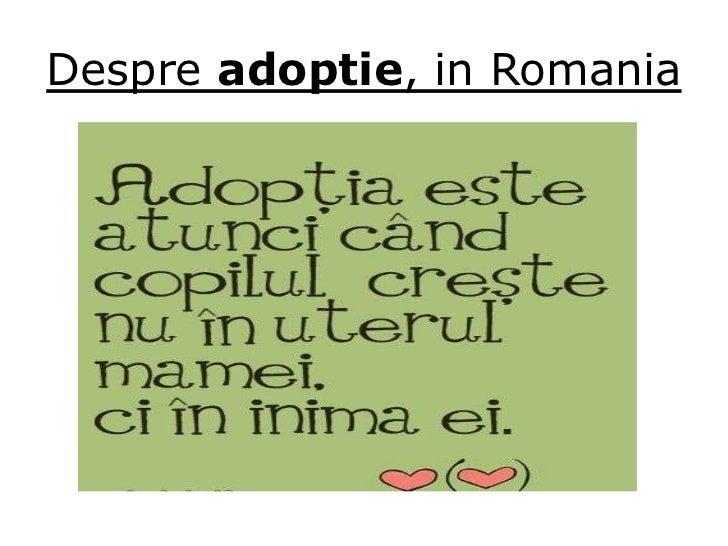 Intrebari inainte de adoptie