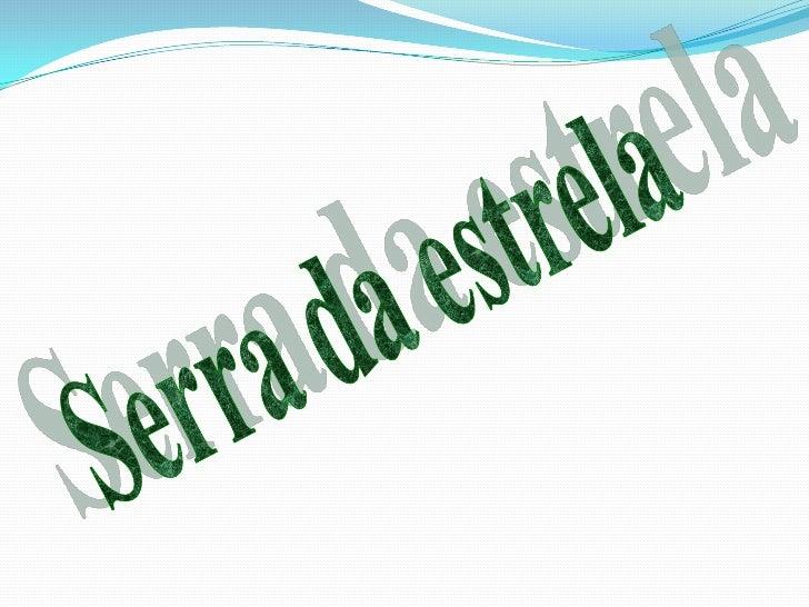 Serra da estrela<br />