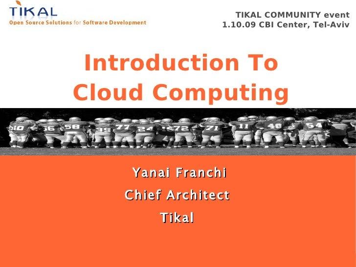 TIKAL COMMUNITY event                                                           1.10.09 CBI Center, Tel-Aviv              ...