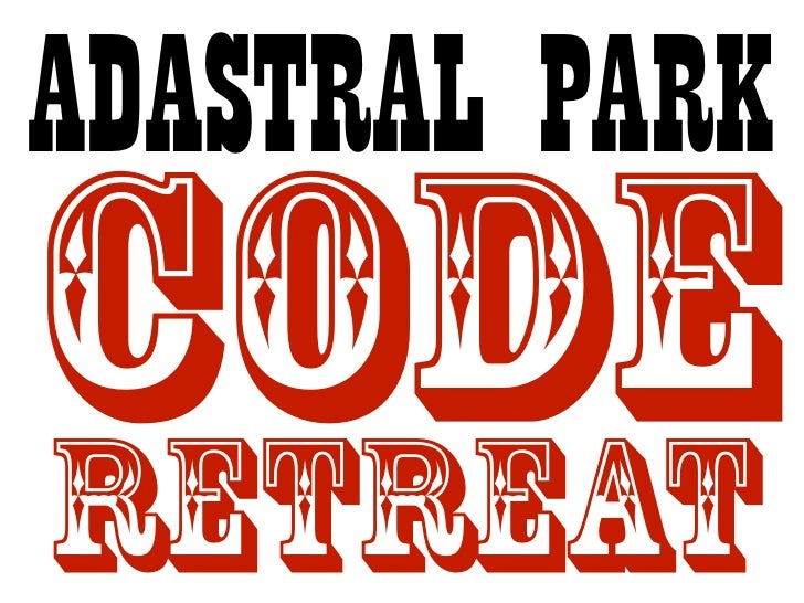 Adastral Park code retreat introduction