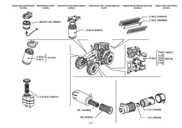 New holland tt75 service manual