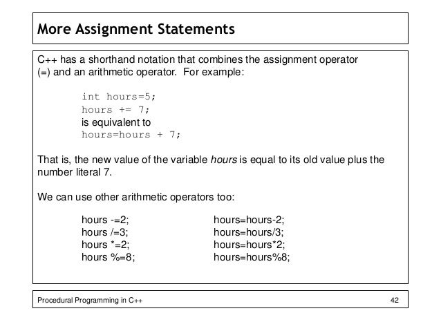 C array assignment