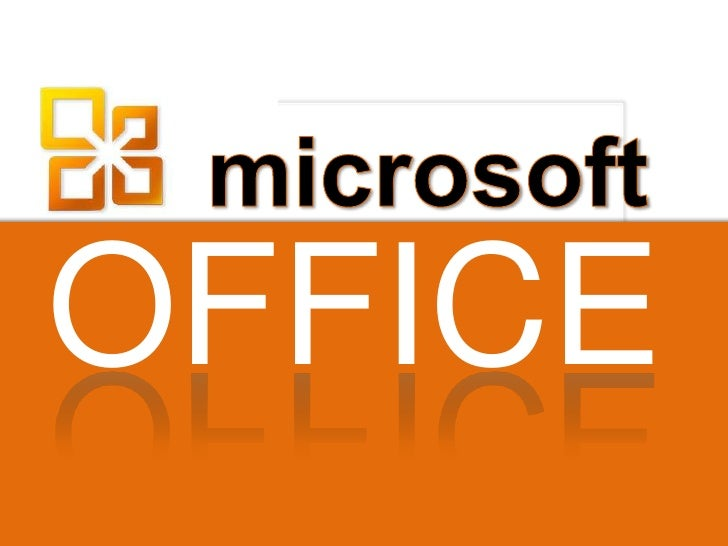 ICT framework: Using Microsoft Office