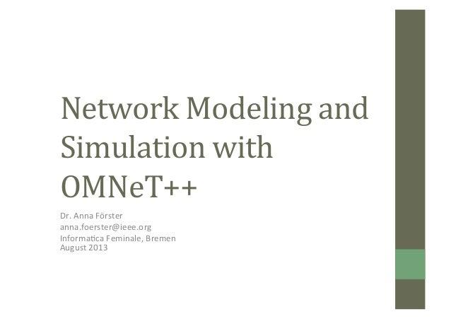 Intro omnetpp-if13-published