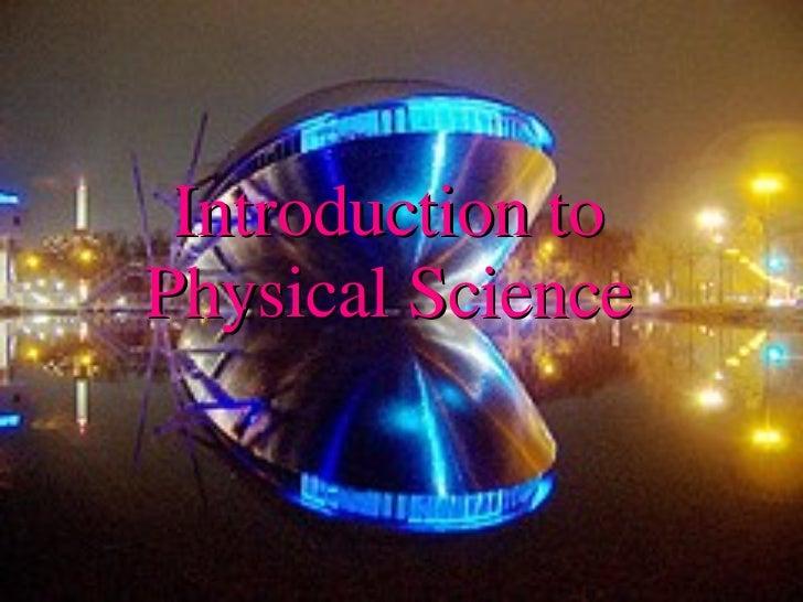 Intro Phys Sci 2
