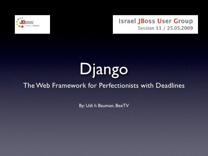 Intro To Django