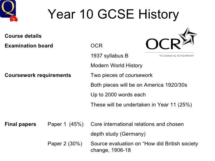 ocr physics coursework gcse