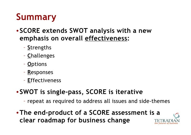 swot analysis beyond the textbook 9 putting it all together: swot analysis in identifying your organization's strengths and weaknesses able and willing to locate books held by other book-sellers weaknesses beyond pest as any management student or management textbook will affirm.