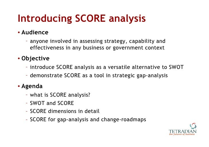 Alternatives to SWOT Analysis