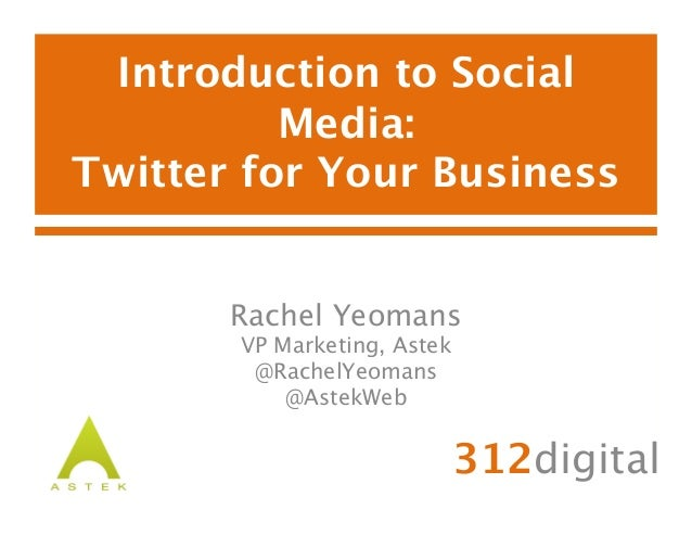 Introduction to SocialMedia: