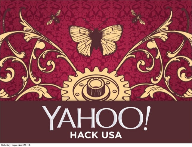 Intro to Yahoo Tech