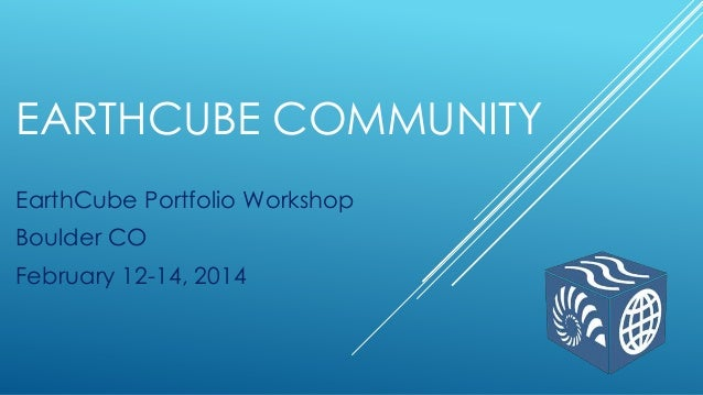 EC Portfolio Workshop Introduction