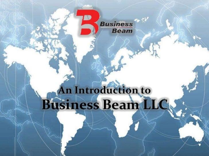An Introduction toBusiness Beam LLC