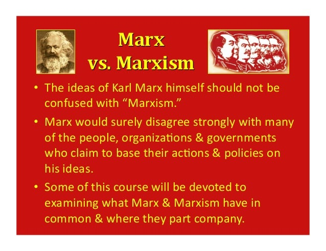karl marx and his ideas Religion as opium of the people karl marx, religion, and any problems with his economic analysis will affect his other ideas marx places his emphasis on the.