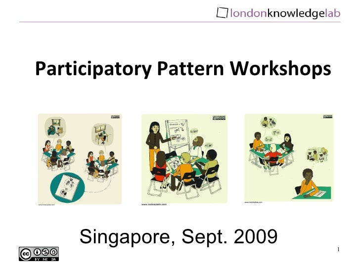 Introduction to Participatory Pattern Workshops Short