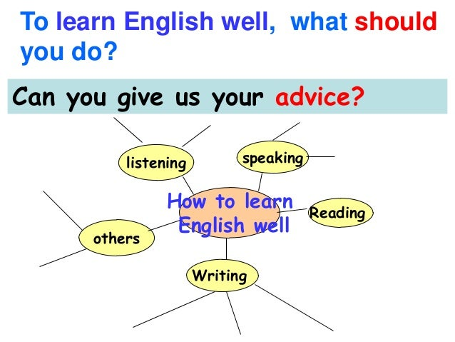 How to learn write english
